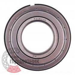 150208 - 6208ZNR Пiдшипник кульковий з зовнішнім стопорним кільцем