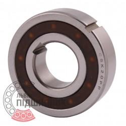 CSK20PP One way Bearing with Keyway Sprag Freewheel Backstop Clutch