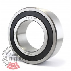 Angular ball bearing 025089 Geringhoff