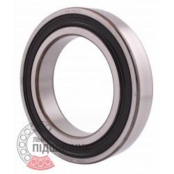 6016-2RS1/C3 [SKF] Deep groove sealed ball bearing
