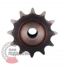 Звездочка приводная 06B-1 под роликовую цепь - шаг 9.525мм, Z - 12 [Dunlop]