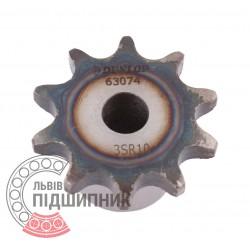 Звездочка приводная 06B-1 под роликовую цепь - шаг 9.525мм, Z - 10 [Dunlop]