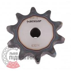 Звездочка приводная 12B-1 под роликовую цепь - шаг 19.05мм, Z - 10 [Dunlop]
