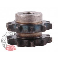 06B-2 Roller chain sprocket T- 10, d-8mm