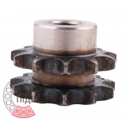 06B-2 Roller chain sprocket T- 11, d-10mm
