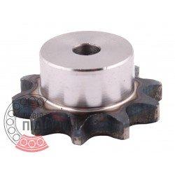 Plain bore roller chain sprocket 10B-1 - pitch 15.875mm, 10 Teath [Dunlop]