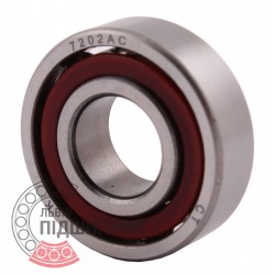 7202AC Angular contact ball bearing