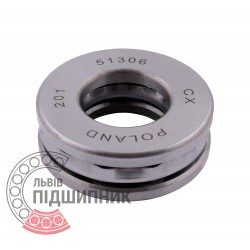 51306 [CX] Thrust ball bearing