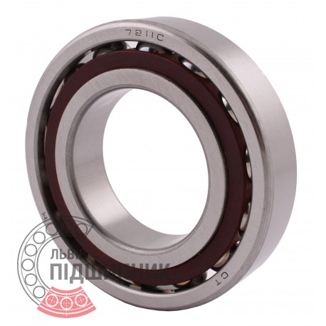 7211C Angular contact ball bearing