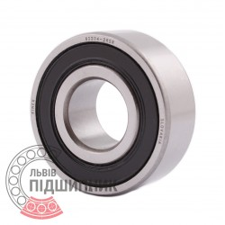 62204 2RS [ZKL] Deep groove sealed ball bearing
