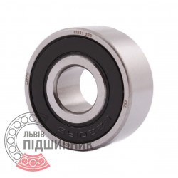 62201 2RS [ZKL] Deep groove sealed ball bearing