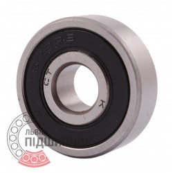 628 2RS Miniature deep groove ball bearing