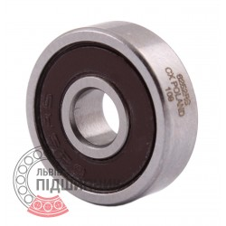 180025 | 625 2RS [CX] Мініатюрний закритий кульковий підшипник