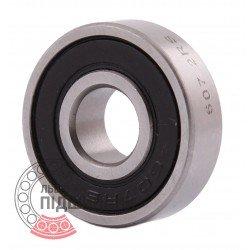 607 2RS Miniature deep groove ball bearing