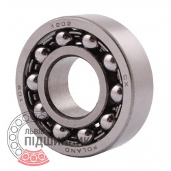 1202 [CX] Double row self-aligning ball bearing