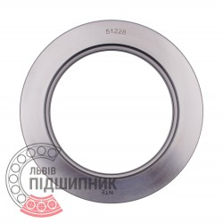 51228 [NTE] Thrust ball bearing