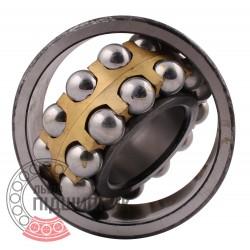 Подшипник шариковый двухрядный сферический 1613 [ХарП]