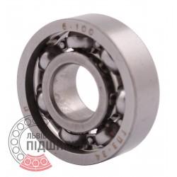 6000 | 100A [GPZ] Deep groove open ball bearing