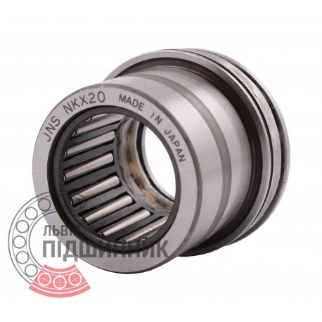 NKX 20 [JNS] Комбинированный игольчатый роликодшипник