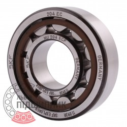 Cylindrical Roller Bearing 025177 Geringhoff [SKF]