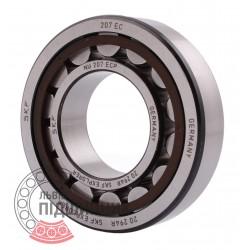 32207 | NU207 ECP [SKF] Цилиндрический роликовый подшипник