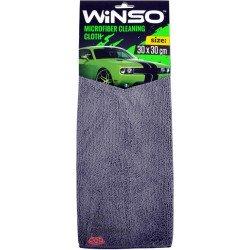 Cалфетка микрофибра серая (Winso), 30х30 см