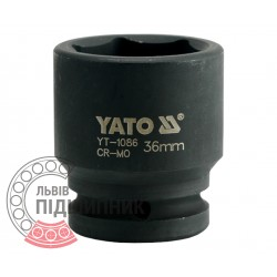 "Hexagonal impact socket 3/4\"" inch / 36 mm (YATO) | YT-1086"