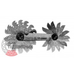 Thread gauge 24 blades (YATO) | YT-29980