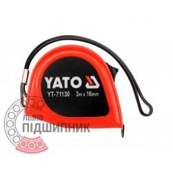 Tape measure 3m x 16mm (YATO)