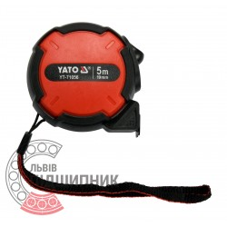 Tape measure with nylon coated 5m x 19mm (YATO)