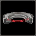 Corteco 12011186/Ring 55/x 80/x 8