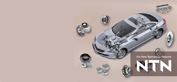 Automotive bearings of NTN